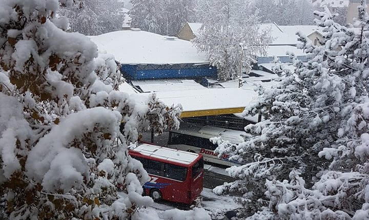 Bačka Palanka - prvi sneg 3. dec