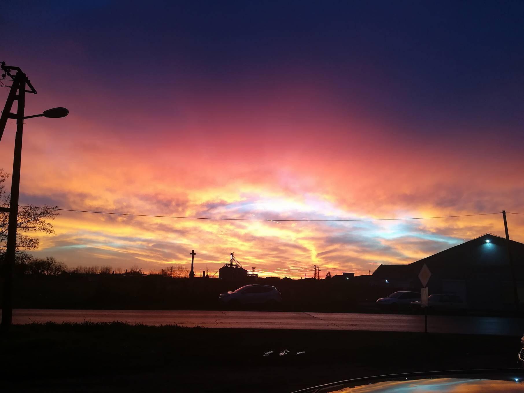 Izlazak sunca Novi Bečej - 12. dec (Foto: Slobodan Blazin)