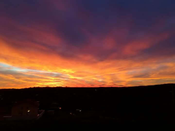 Izlazak sunca Sremska Kamenica - 12. dec (Foto: elena Cadjenovic Avramov)