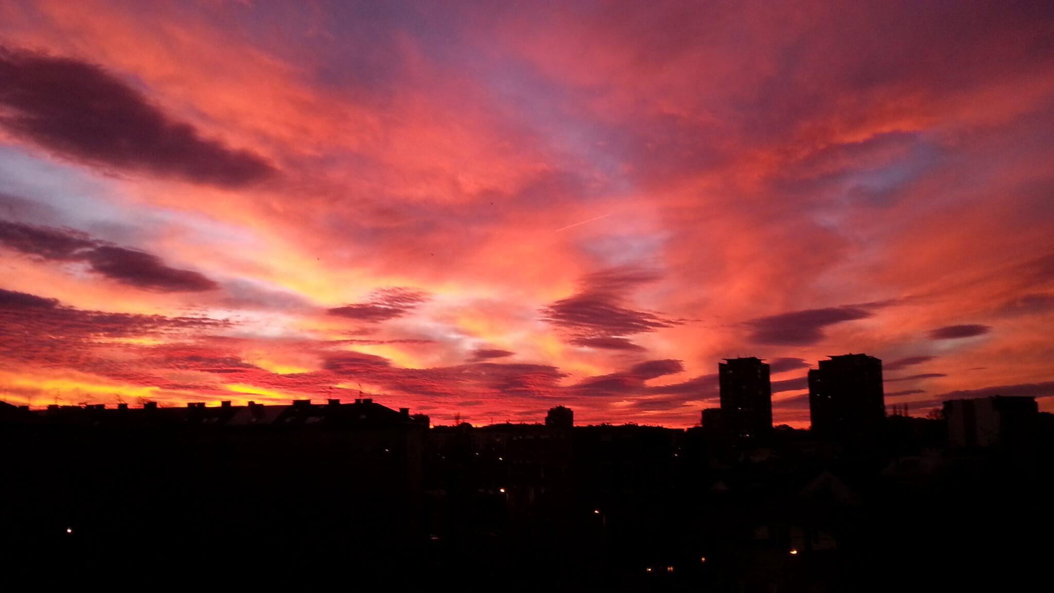 Izlazak sunca Zemun - 12. dec (Foto: Mihajlo Tomić)