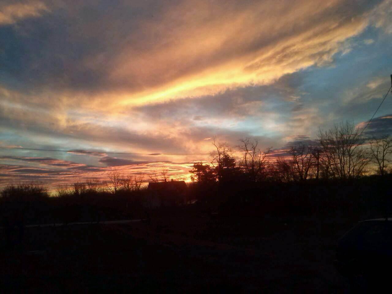 Izlazak sunca kod Uba - 12. dec (Foto: Djurdjica Opačić Rajic)