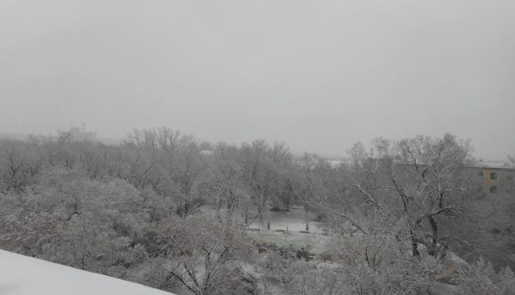 Senta - prvi sneg 3. dec