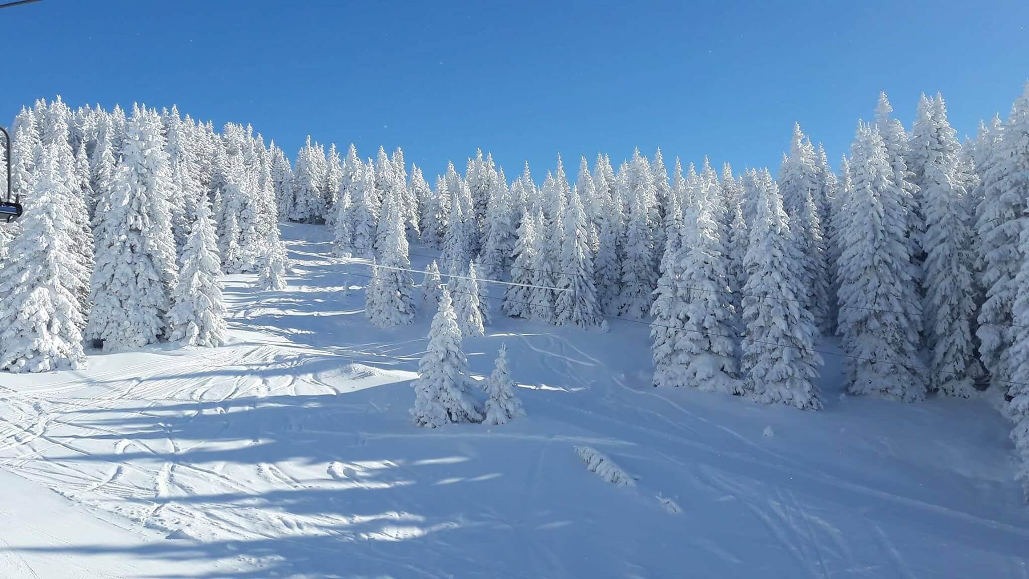 Snežna idila na Kopaoniku - 21. decembar 2017