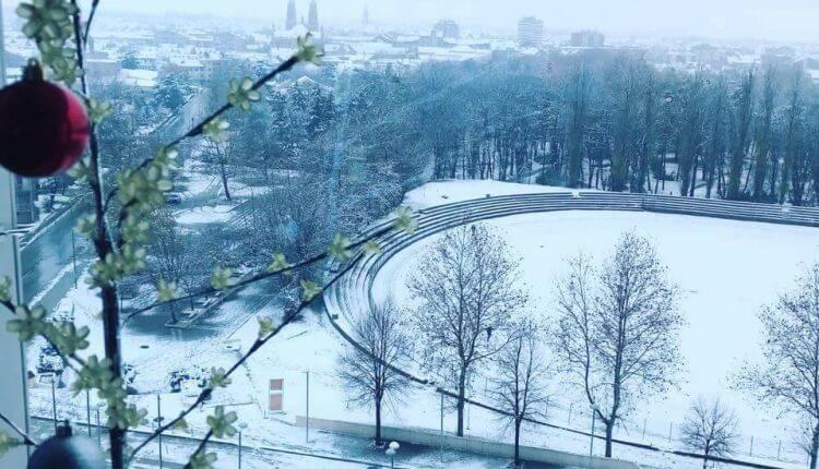 Vršac - prvi sneg 3. dec
