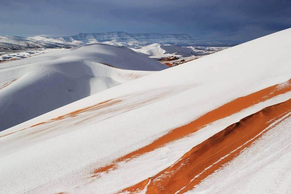 Sneg u Sahari (Alžir) 2