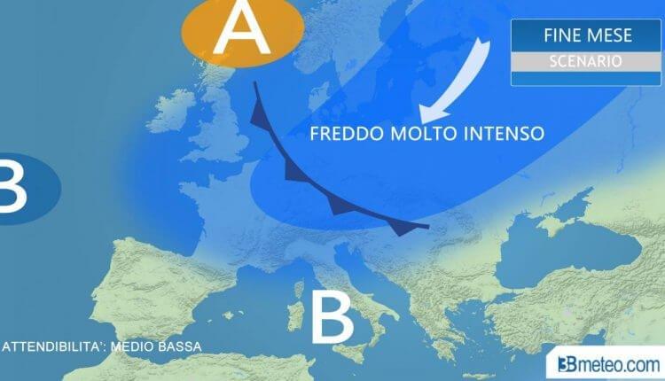 3bmeteo - zimski scenario u Evropi