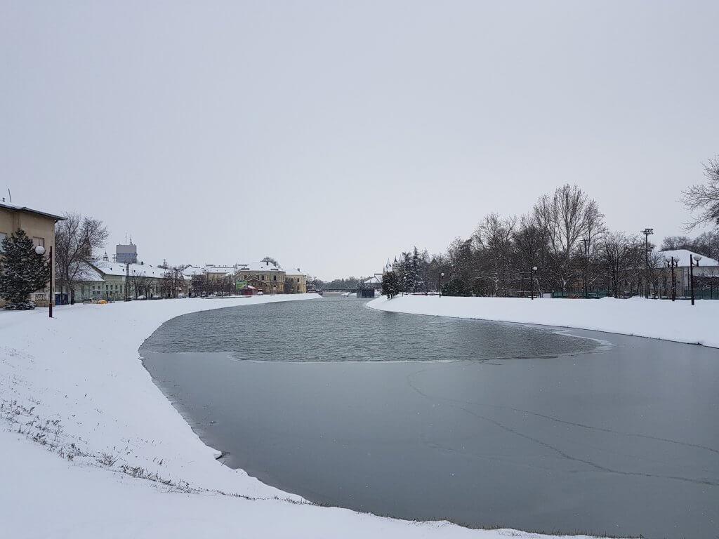 Centralno gradsko jezero Zrenjanon - 27. februar
