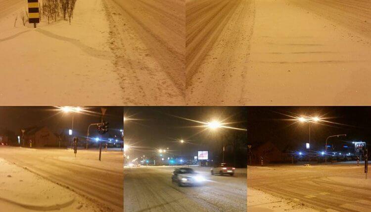 Novi Sad u noći ka utorku