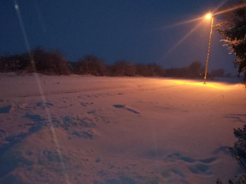 Rano jutro u Kovačici pod snegom - 28. februar