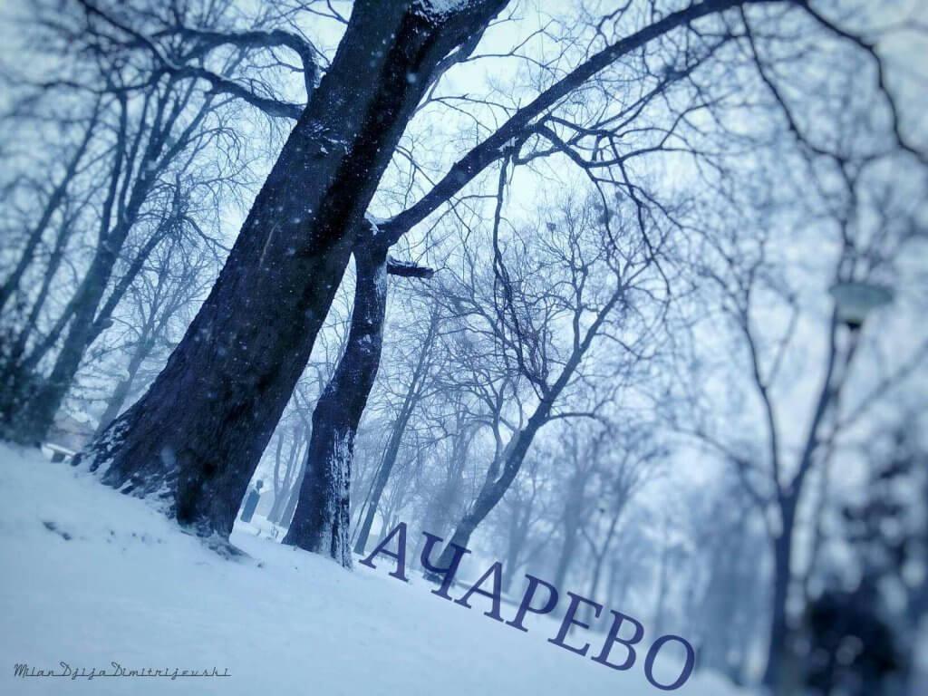 Sneg u Kačarevu - 26. feb 2018