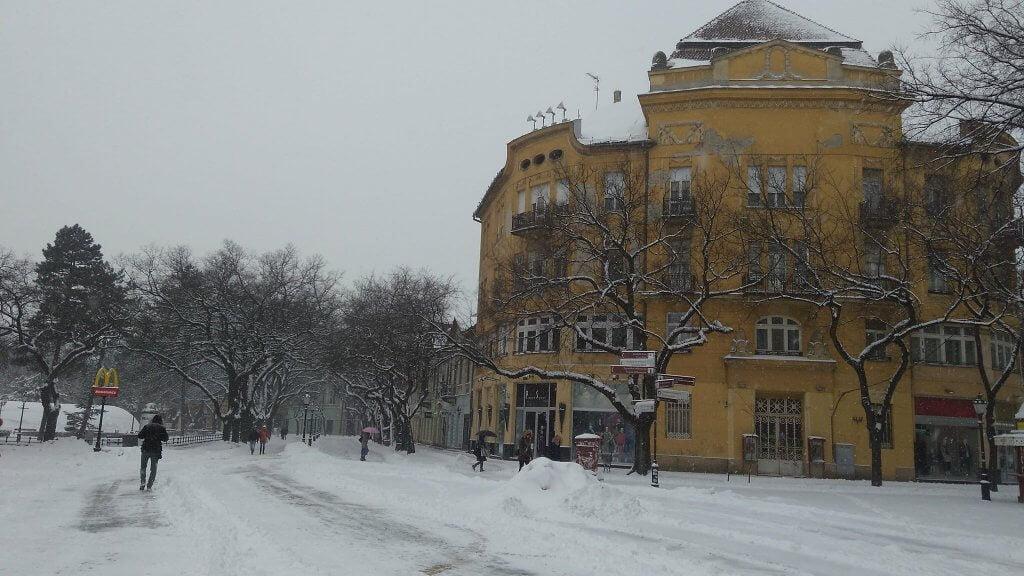 Sneg u Subotici (2) - 27. feb ujutru