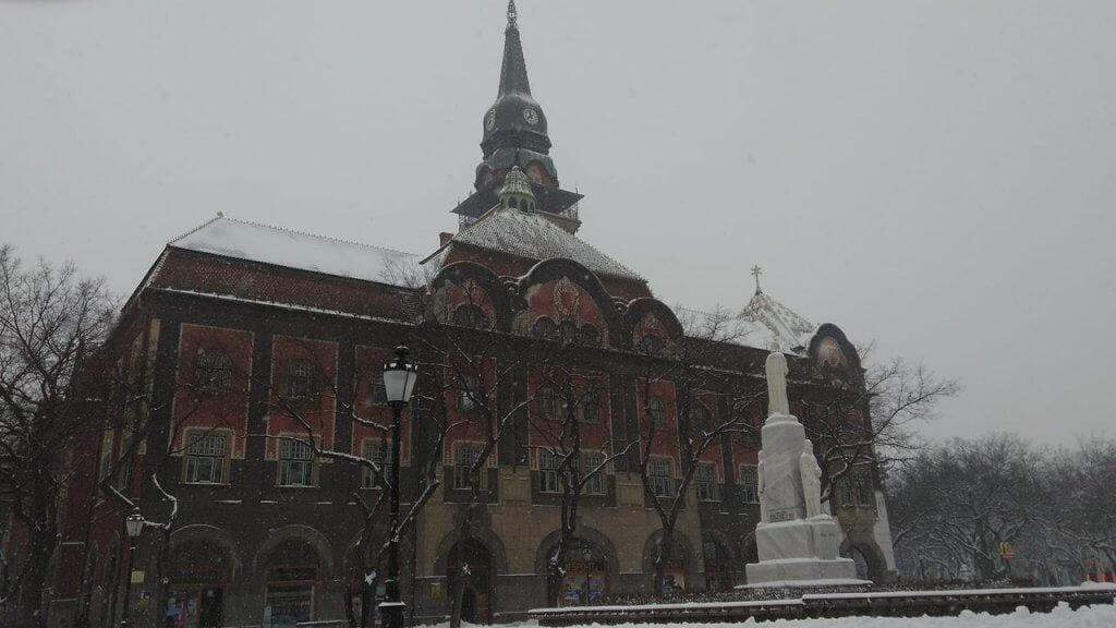 Sneg u Subotici - 27. feb ujutru