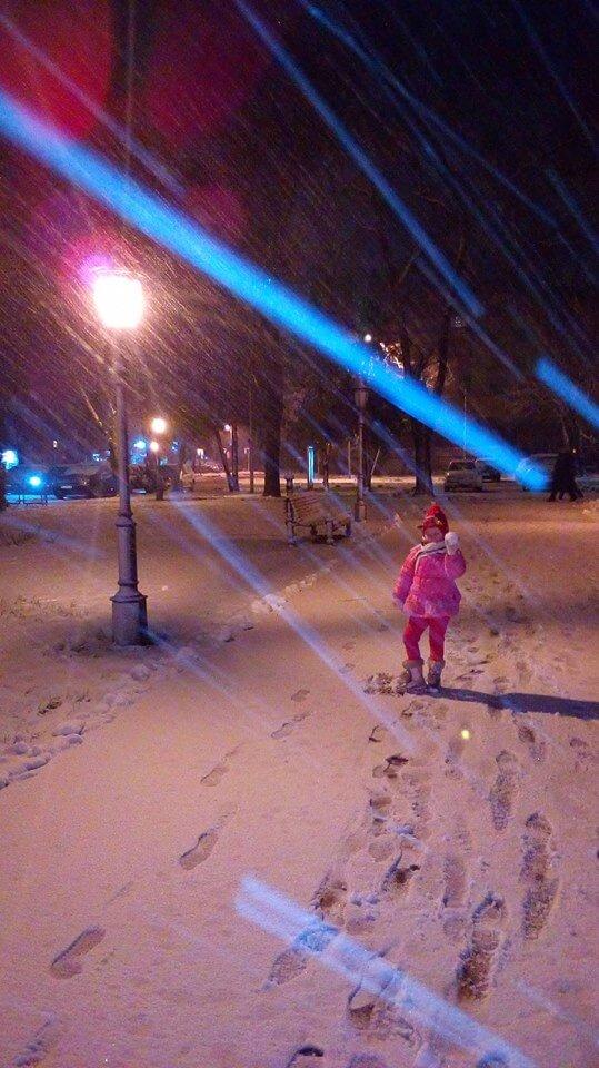Sneg u Vrbasu - 20. feb 19h