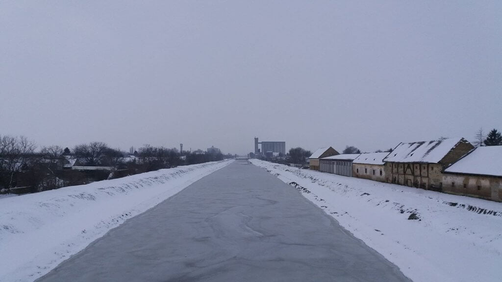 Veliki Bački kanal okovan ledom - 28. februar