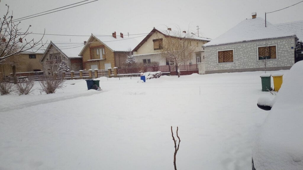 Vršac pod snegom - 28. februar
