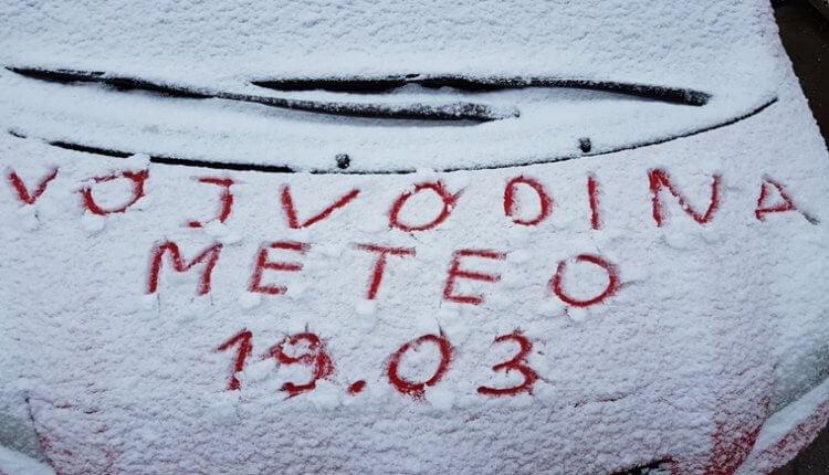 Narednih dana sneg povremeno (VojvodinaMeteo)