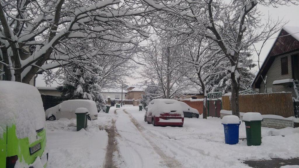 Petrovaradin pod snegom - 23. mart 2018