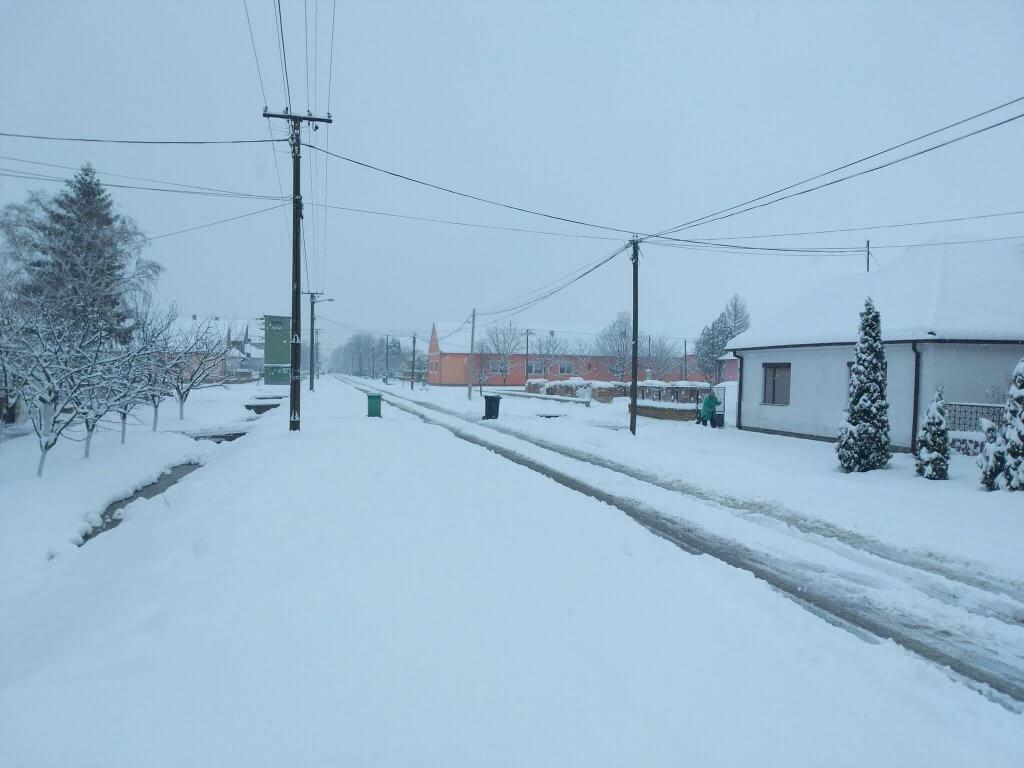 Prolećni sneg u Žitištu (3)
