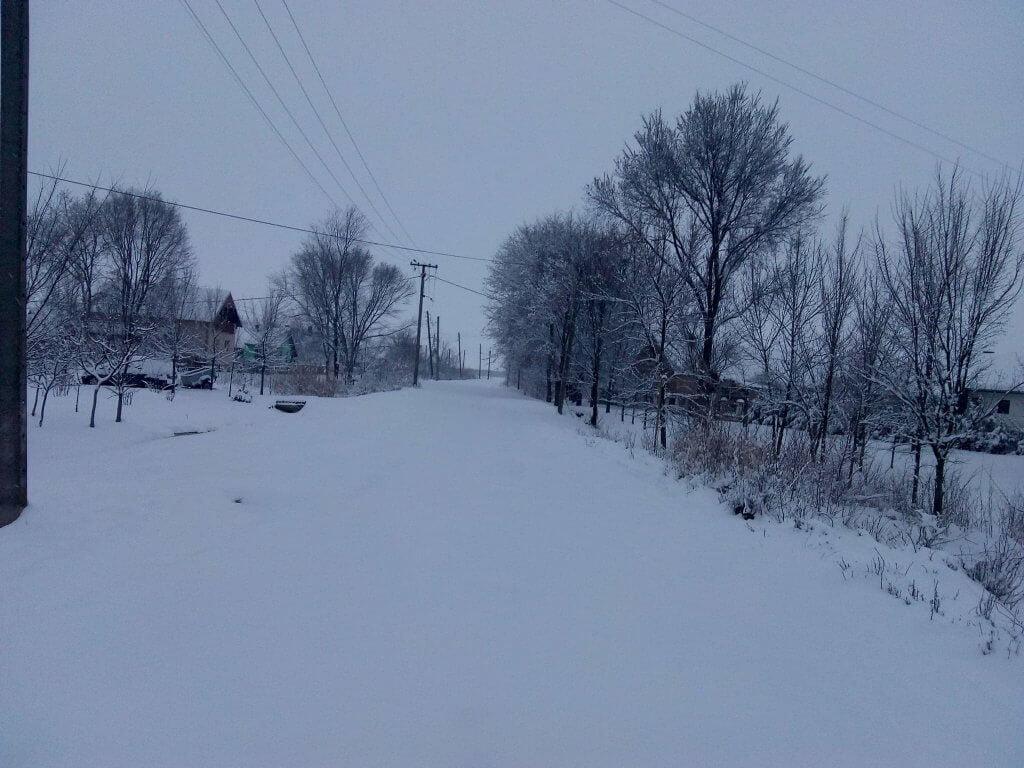 Sneg i na istoku Banata - Jaša Tomić