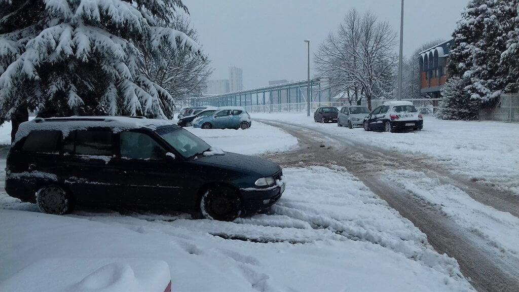 Sneg u Zrenjaninu (2) - 23. mart 2018