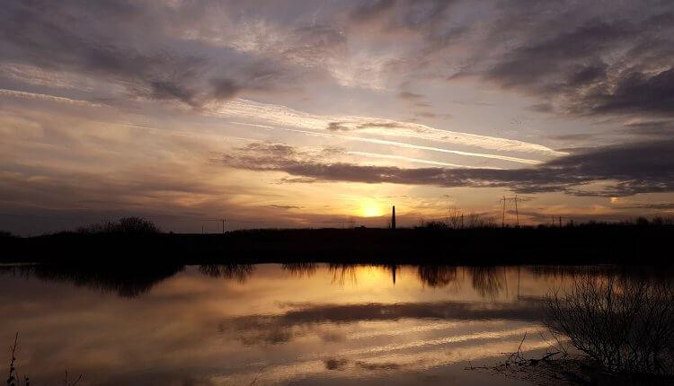 Zalazak sunca kod Tomaševca (1) - 11. mart 2018