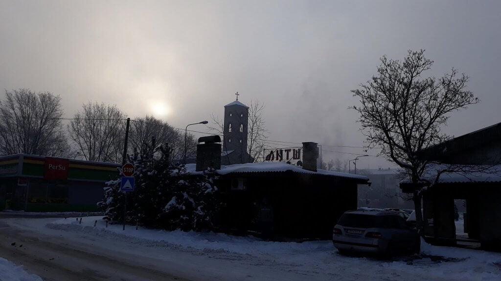 Zrenjanin sa ledenom maglom (Bagljaš) - 1. mart 2018