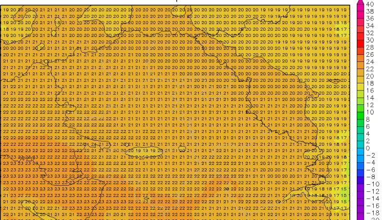 Maksimalne temperature u utorak oko 20 stepeni