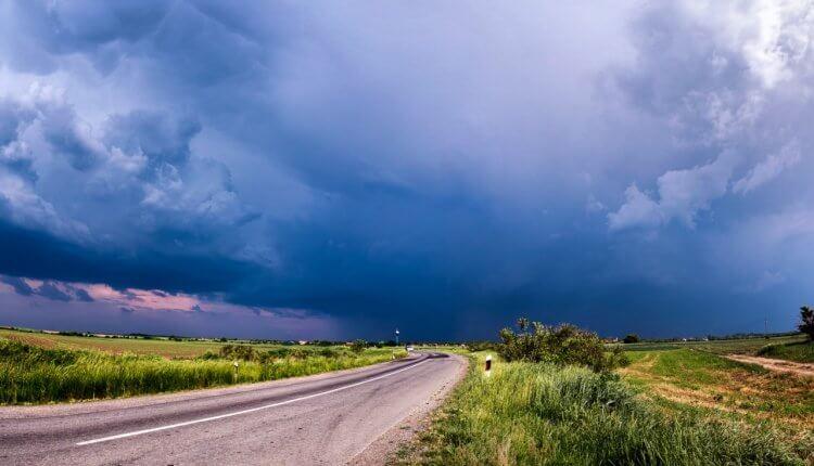 Lokalni razvoj olujnih oblaka u Vojvodini - 10. maj 2018