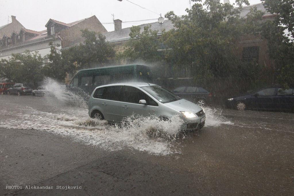 Potop na ulicama Pančeva