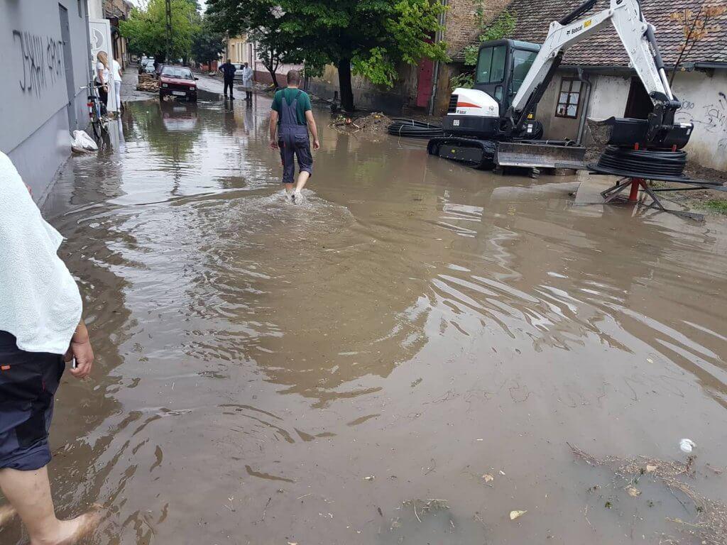 Potop na ulicama Pančeva 2