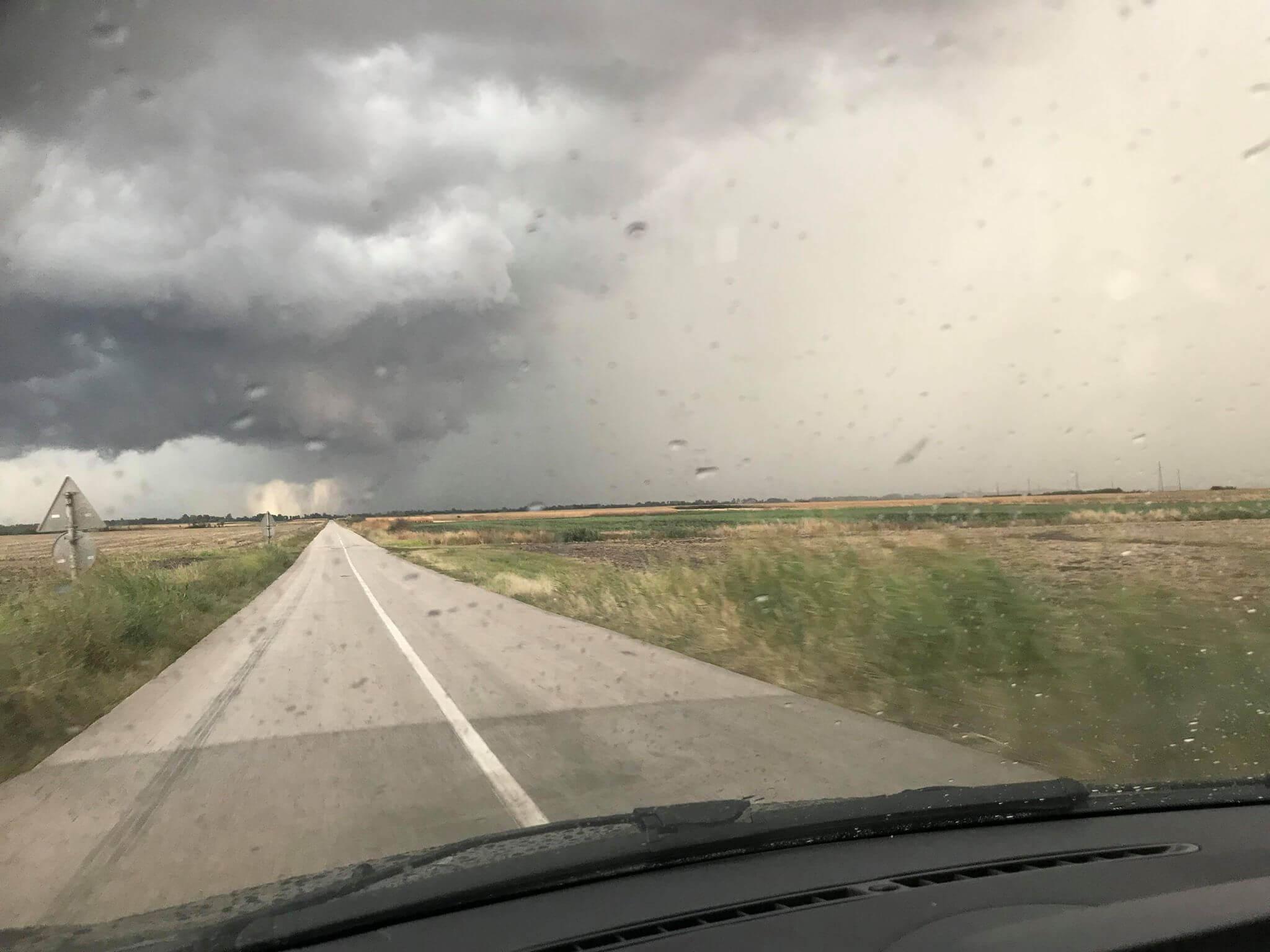 Nevreme u okolini Itebeja - 4. septembar