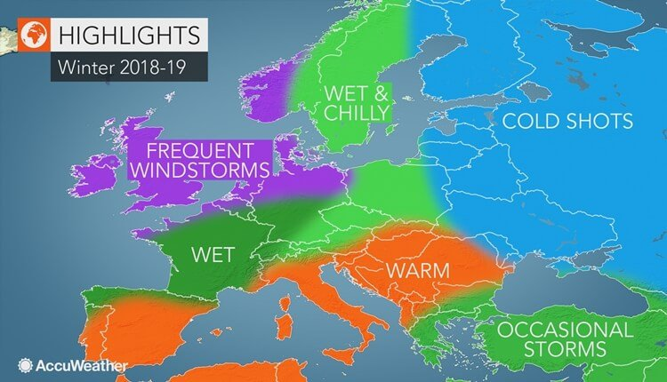 AccuWeather prognoza za zimu 2018-19 u Evropi (small)