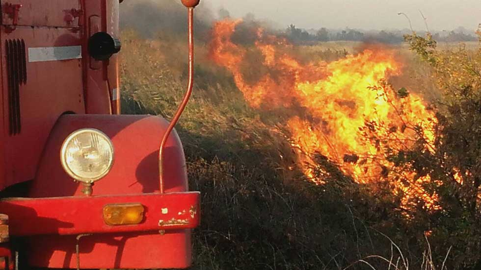 Jučerašnji požar na Carskoj Bari