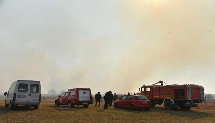 Požari u srednjem Banatu