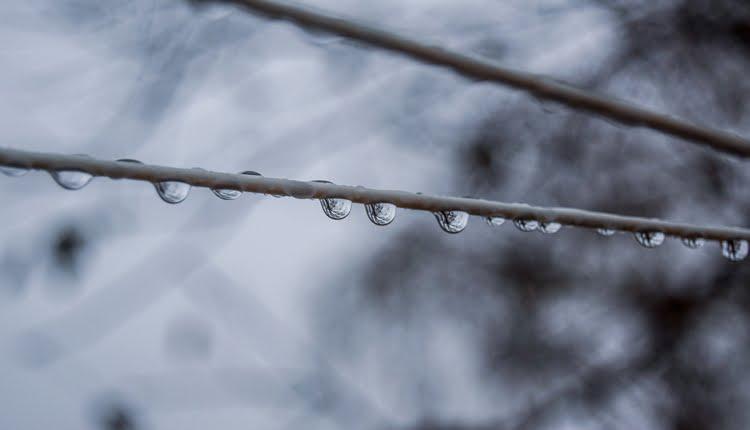 Kišne kapi (ilustracija)