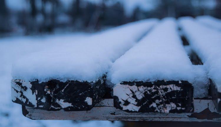 Klupa pod snegom - Daliborka Popov