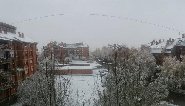 Sneg u Šidu - 28. novembar