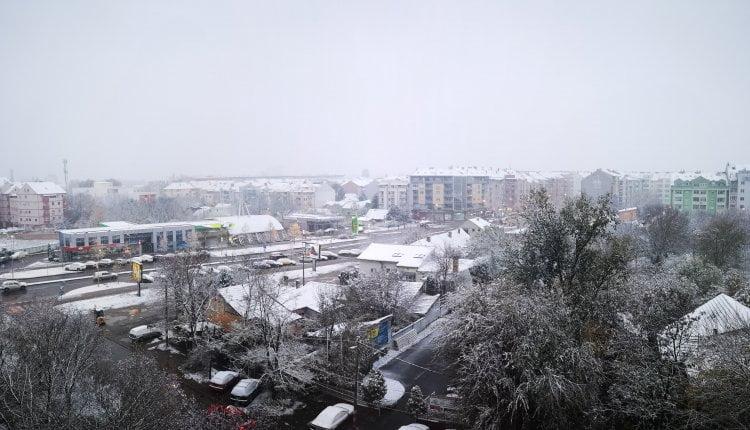 Sneg u Novom Sadu - 28. novembar