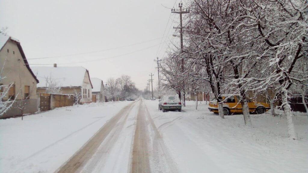 Jutrošnji sneg u Stanišiću