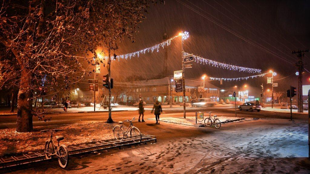Snežno veče u Temerinu