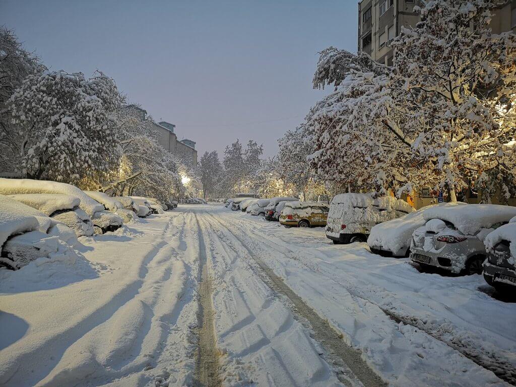 Novi Sad rano jutros - 15. decembar
