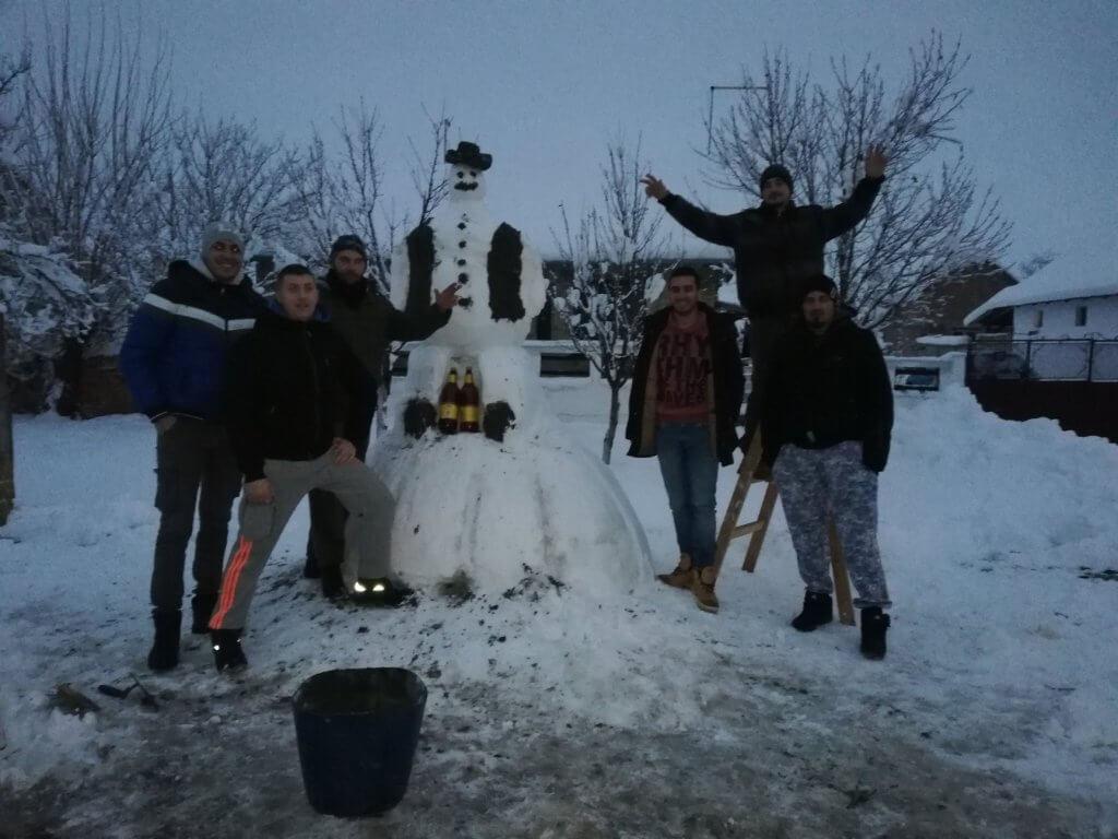Snežni lala je završen