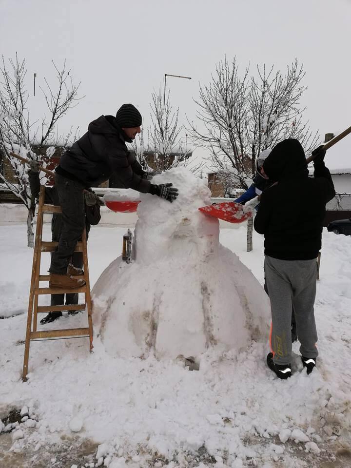 Snežni lala napreduje iz minuta u minut (2)