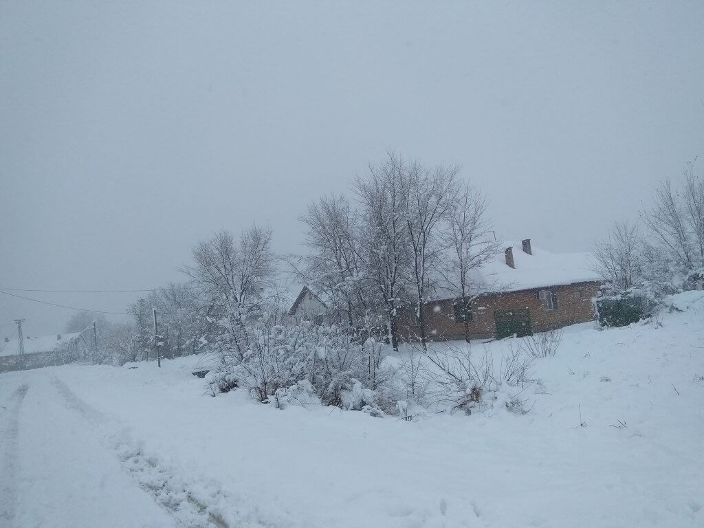 Sneg u Jaši Tomić
