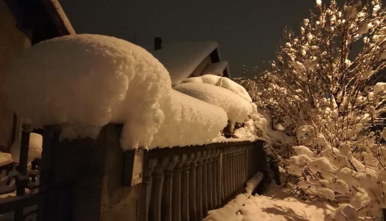 U Novom Sadu večeras 41cm snega