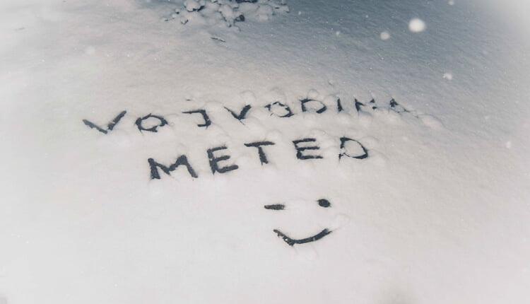 VojvodinaMeteo u snegu