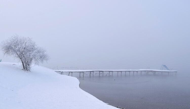 Zimski ambijent u Backoj Topoli