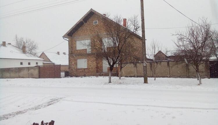 Božićni sneg u Stanišiću