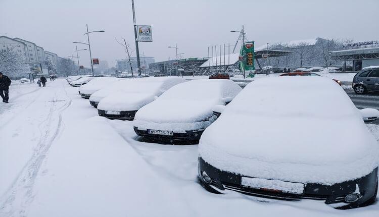 Novi Sad lider sa visinom snežnog pokrivača
