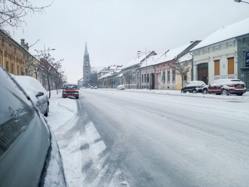 Pod snegom je i Vršac